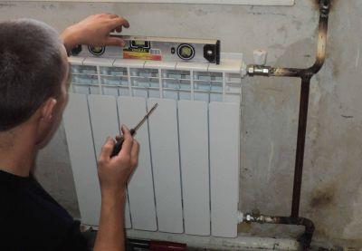 Монтаж на радиатори за отопление - Изображение 1