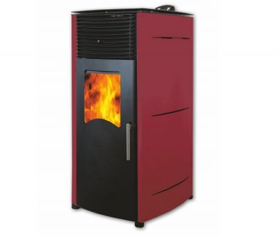 ПЕЛЕТНА КАМИНА BURNIT PD COMFORT PLUS 8kW, BORDEAUX