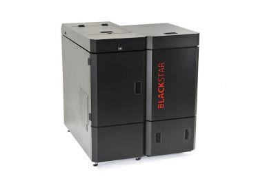 ПЕЛЕТЕН КОТЕЛ NBE BS+ 16 с горелка+бункер 180кг. ( опции автоматично почистване на горелката и ламбда сонда )