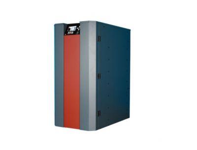 ПЕЛЕТЕН КОТЕЛ NBE RTB 80 с горелка + бункер за пелети 320 кг. (пълен автомат)