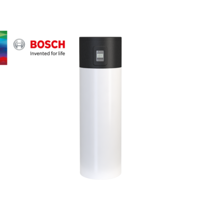 Термопомпен бойлер Bosch 200 литра с една серпентина Compress 4000 DW
