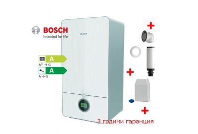 Bosch, Condens 7000iW 24/28 C 23 , двуконтурен стенен котел, мощност БГВ 3,8 - 28 kW, D +комин